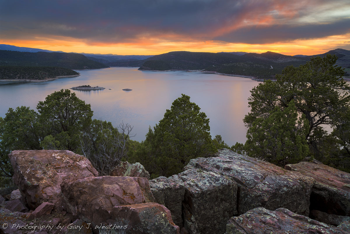 Photograph Sunset, Flaming Gorge Utah/Wyoming by Gary Weathers on 500px