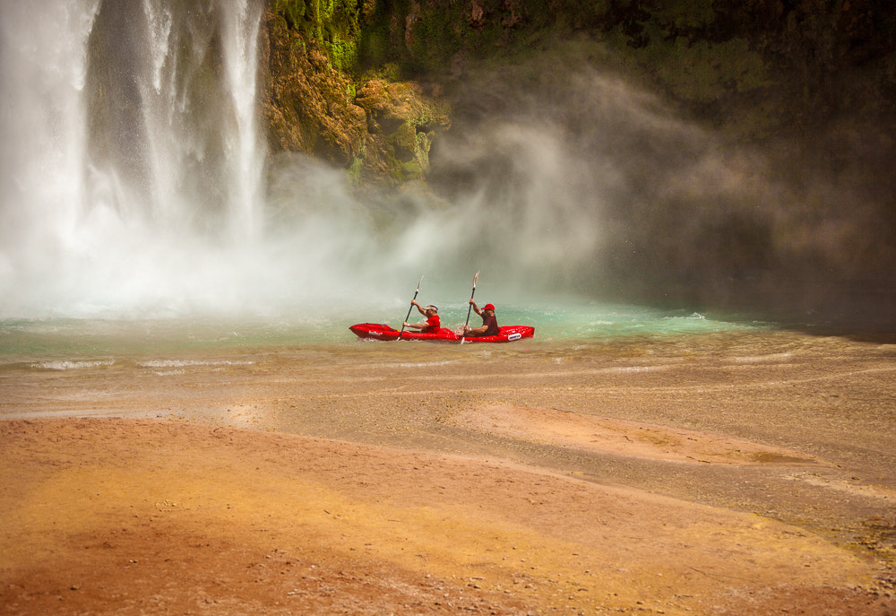 Photograph Mooney Falla, Havasupai by Valerie Millett on 500px