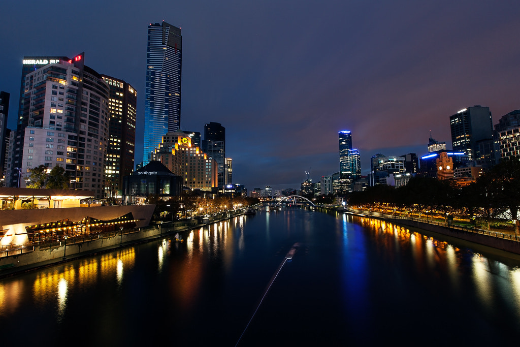 Photograph Dawns Hue - Yarra River by David Hardy on 500px