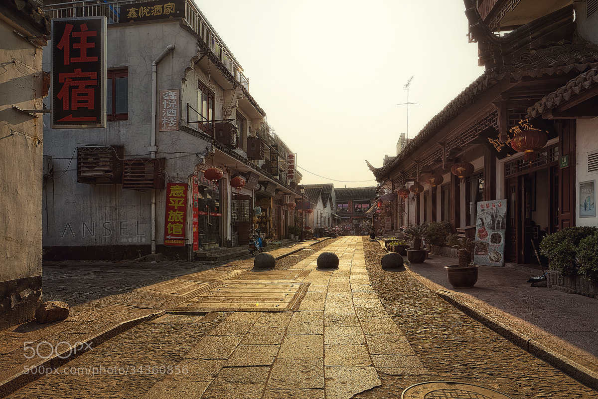 Photograph Zhujiajiao Street by Jonathan Danker on 500px