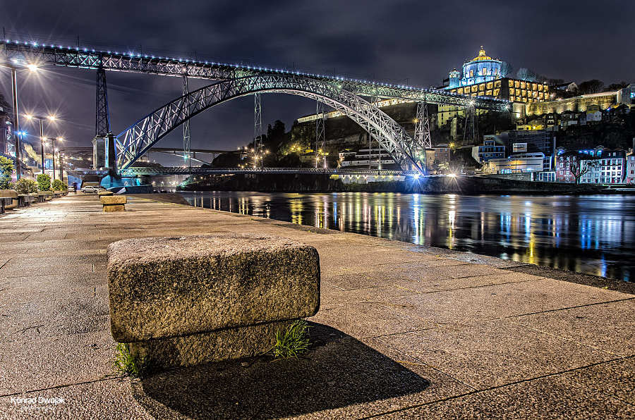 Porto, Duoro River and the Dom Luís Bridge by Konrad Dwojak on 500px.com