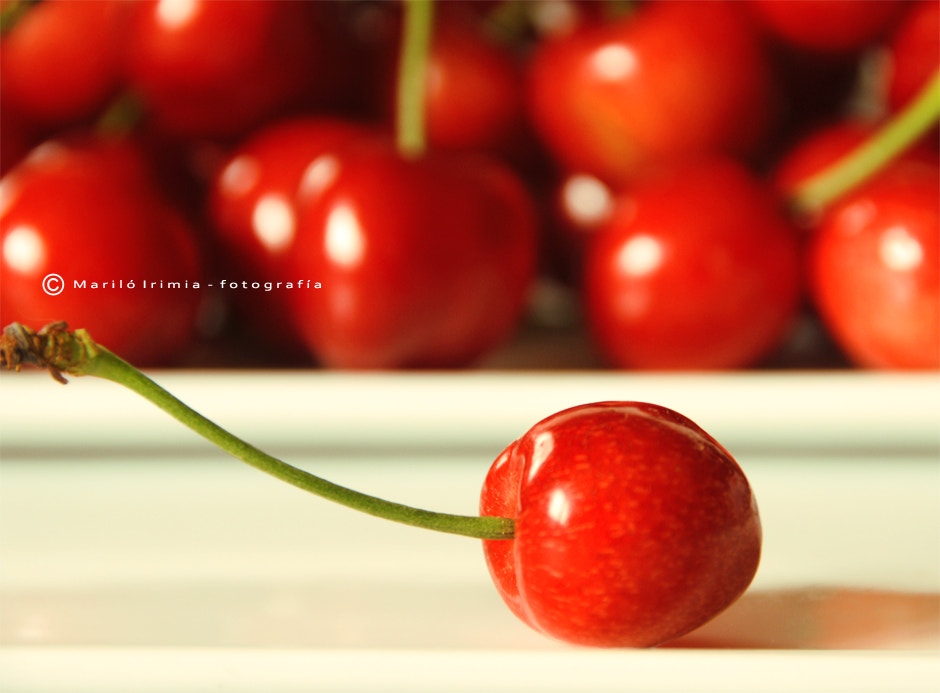 Photograph cherry for you  by Mariló Irimia on 500px