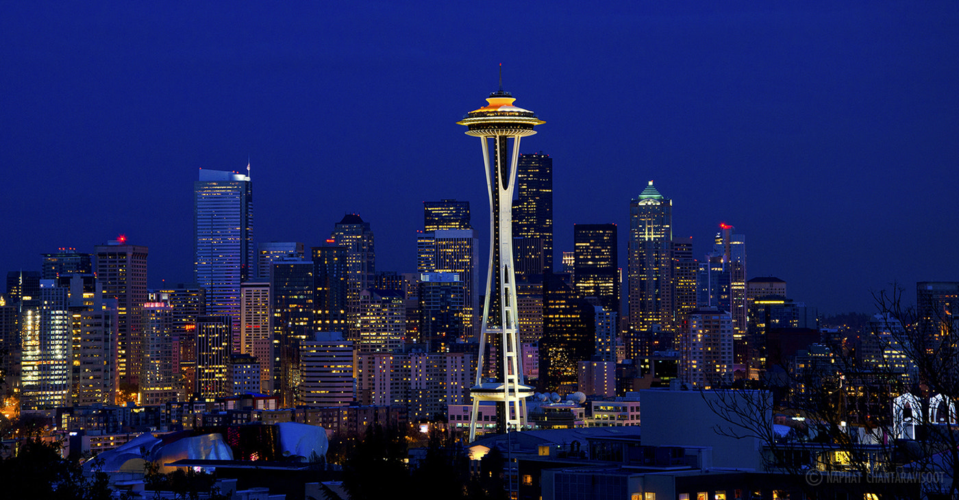 Photograph Downtown Seattle by Nae Chantaravisoot on 500px