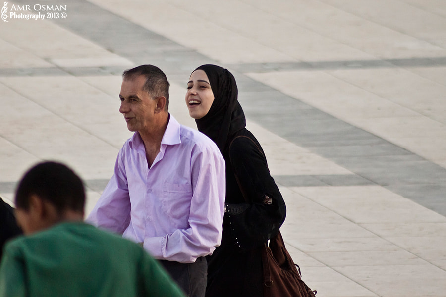 Photograph Happy Walk with Dad by Amr Osman on 500px