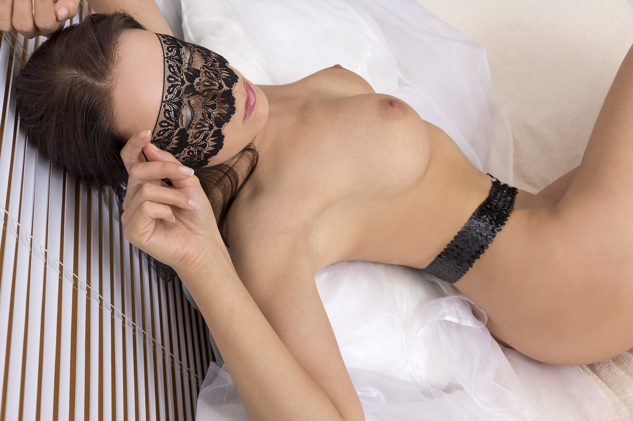 Photograph Lace mask by Guenter Stoehr on 500px