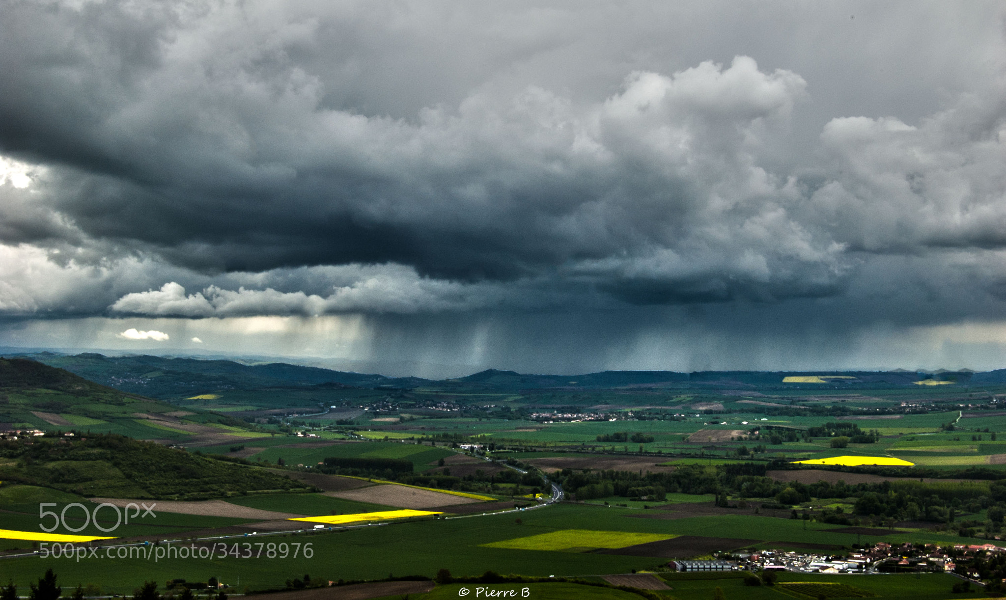 Photograph Rain Line  by Pierre Bonnel on 500px
