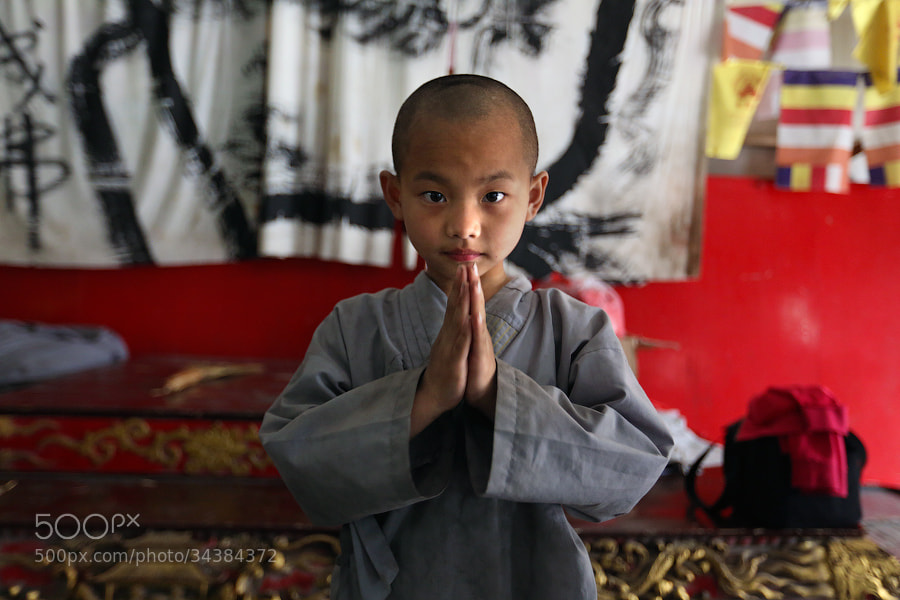Photograph The youngest Shaolin monk by Mark Podrabinek on 500px