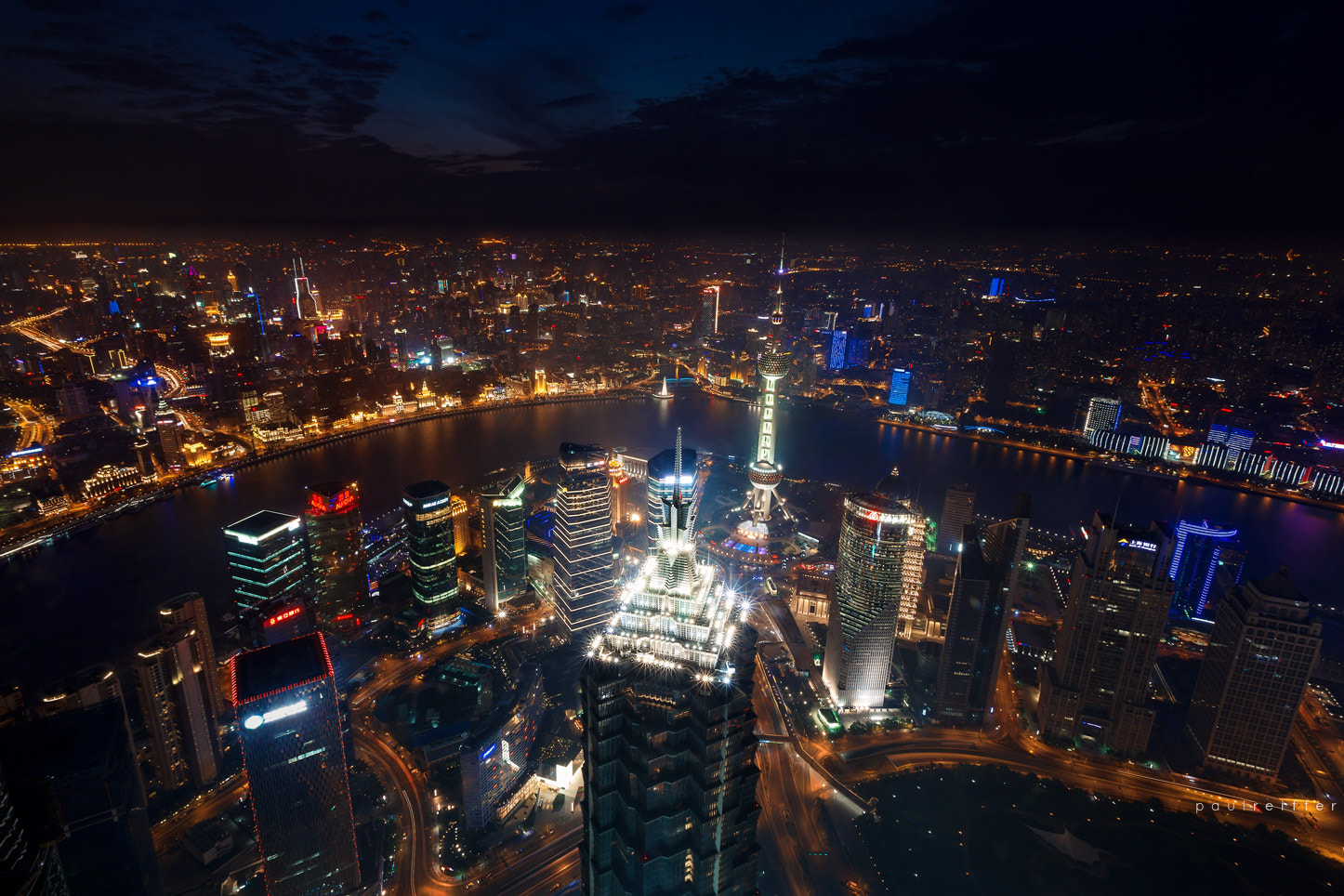 Photograph After Dark : Shanghai's Skyscrapers at Night by Paul Reiffer on 500px