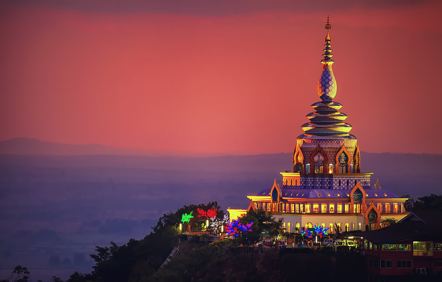 Thaton Temple. Chiang Mai. Thailand. by Wazabi Bomb  on 500px.com
