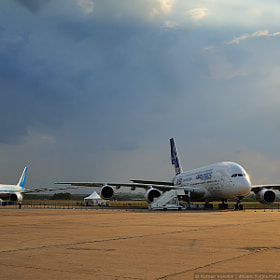 A380 and B787 by Roman Vukolov (RomanVukolov)) on 500px.com