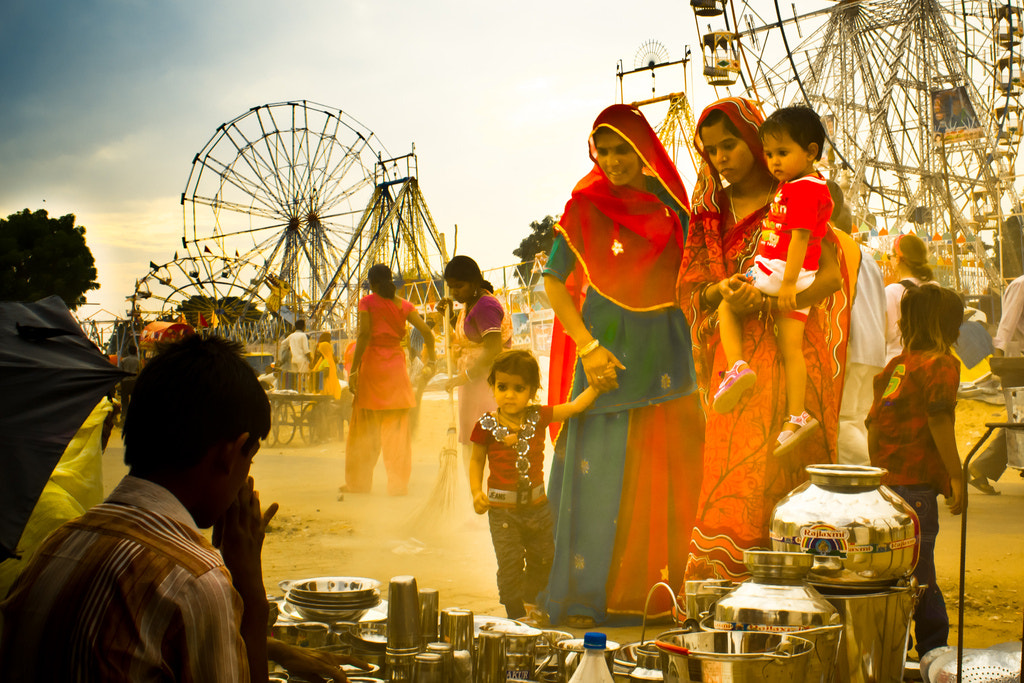Photograph Shopping at the carnival by Devanshu  Jain on 500px