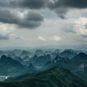 Cloudy Day in Guilin