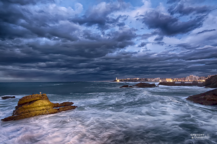Photograph Biarritz by Gregory Guivarch on 500px