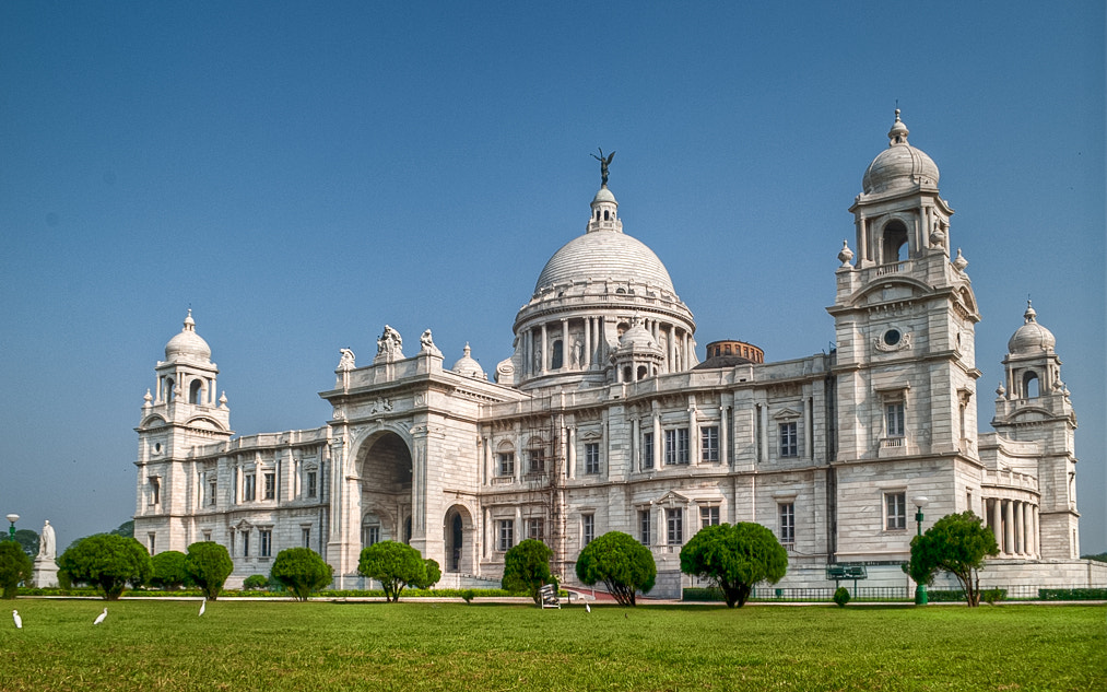 Photograph victoria memorial - ant's view by swarat ghosh on 500px