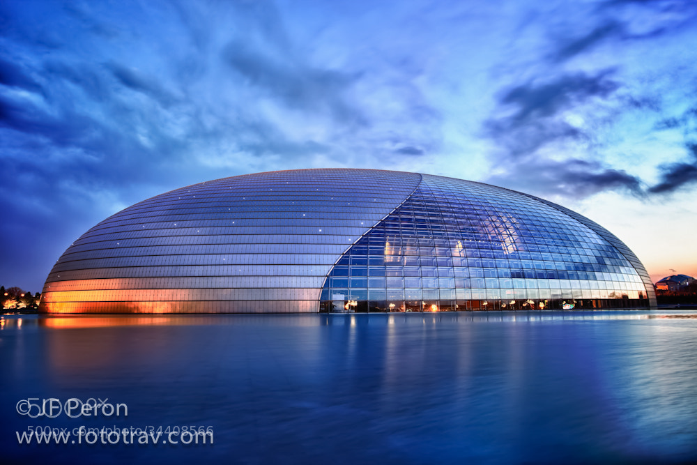 Photograph Beijing National Center of Performing Arts by Fototrav Photography on 500px