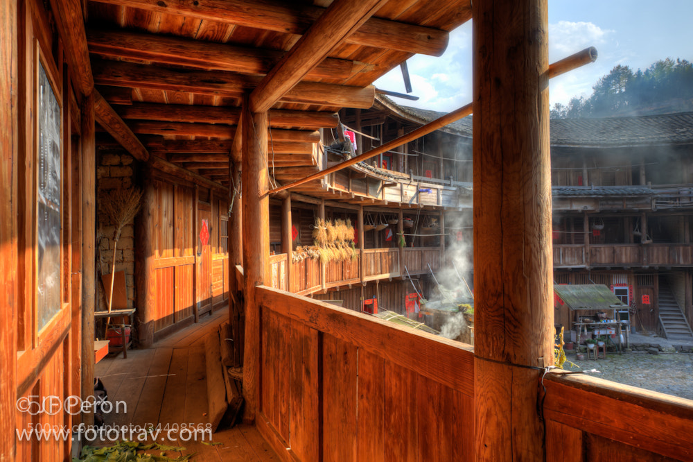 Photograph Sunlight on Hakka Tulou by Fototrav Photography on 500px