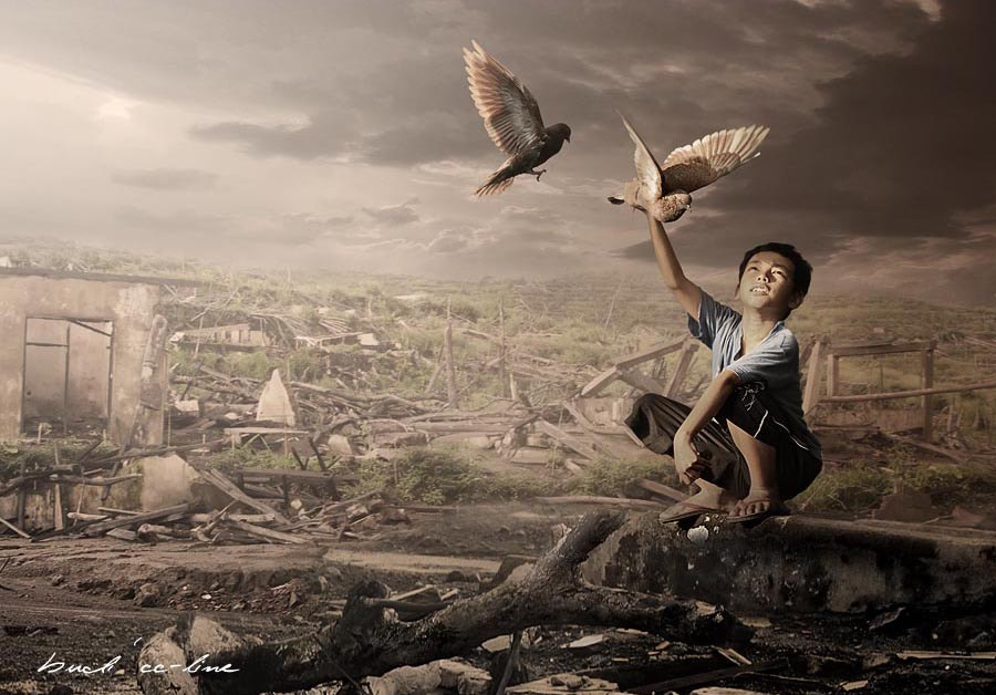 Photograph after disaster by budi 'ccline' on 500px
