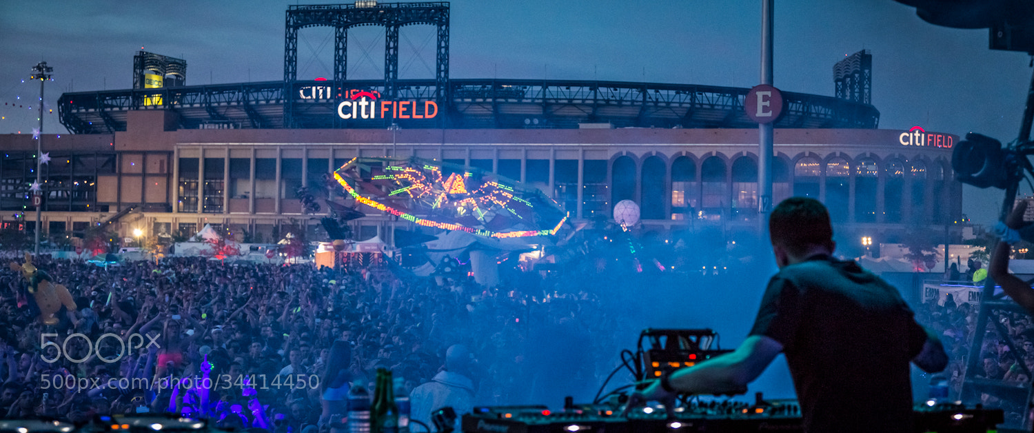 Photograph Dirty South on Stage at EDC in New York City by Jeff Lombardo on 500px