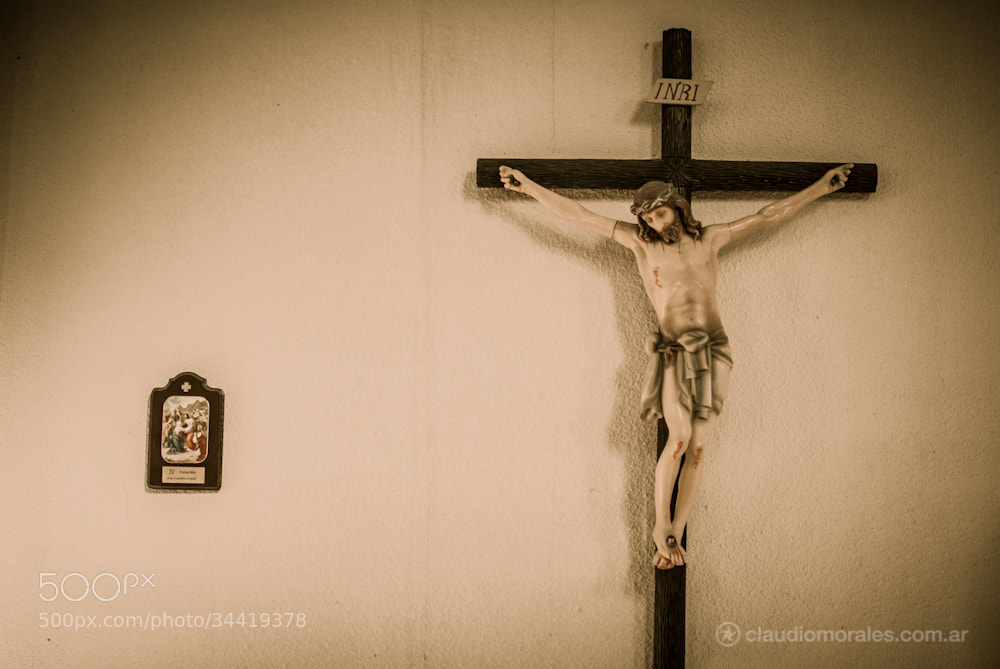 Photograph Jesus by Claudio Morales on 500px