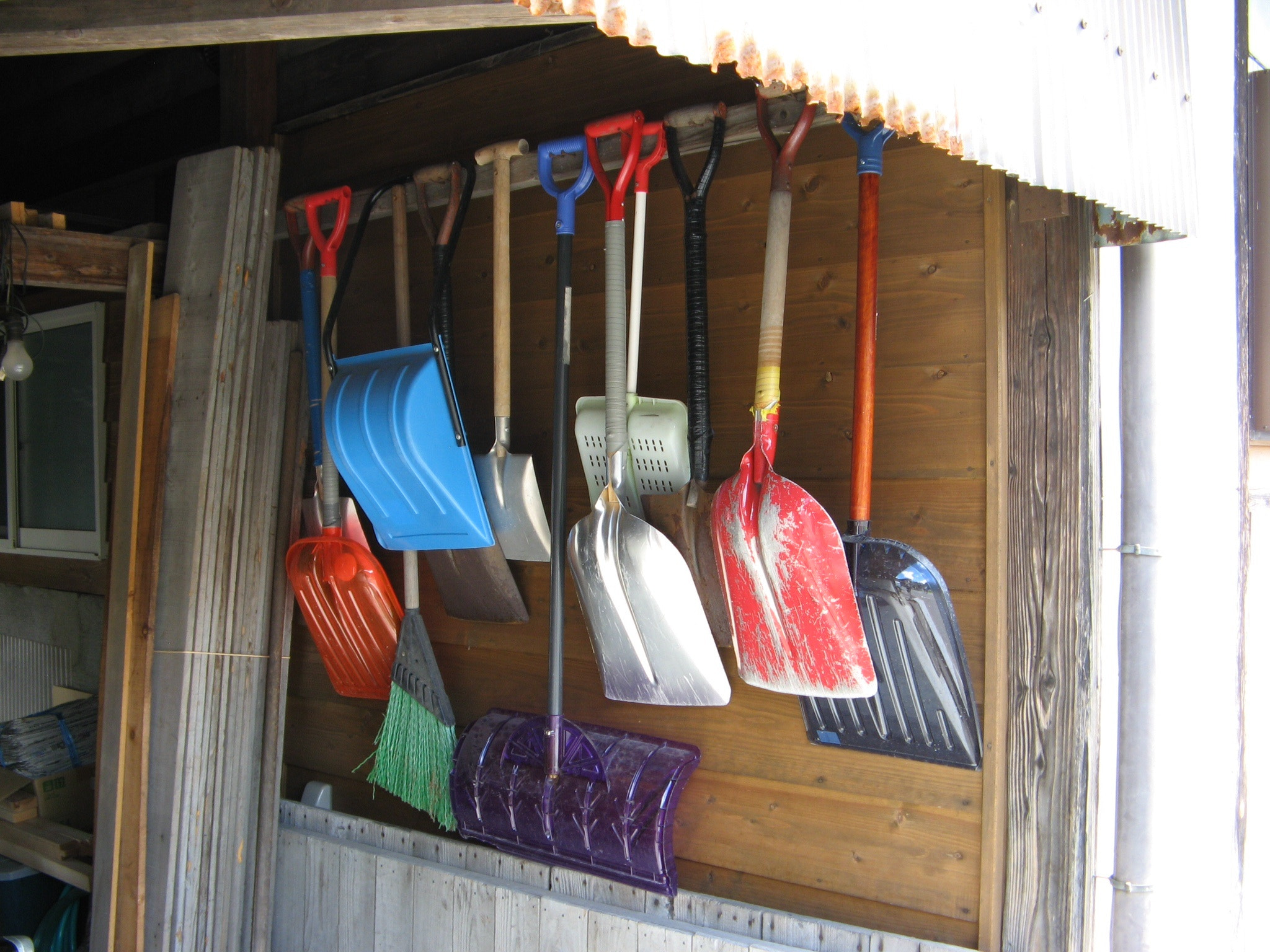 Photograph Snow shovels by sasoljubic on 500px