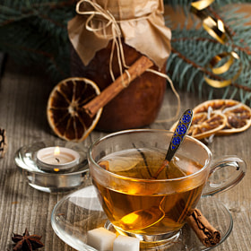 Christmas Tea-drinking - 1 by Natalia Larina (LarinaNatalia)) on 500px.com