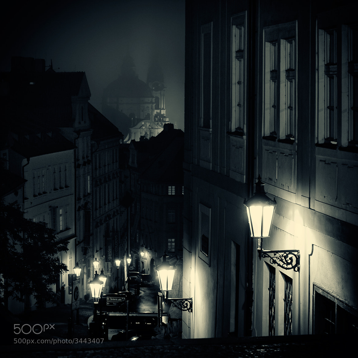 Photograph Lamplighter in Prague by DOF Factory on 500px