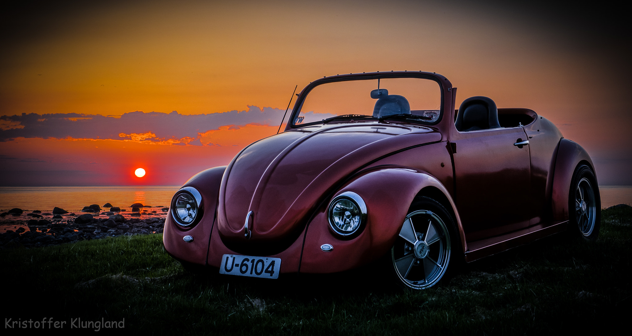 Photograph Beetle in sunset by Kristoffer Klungland on 500px