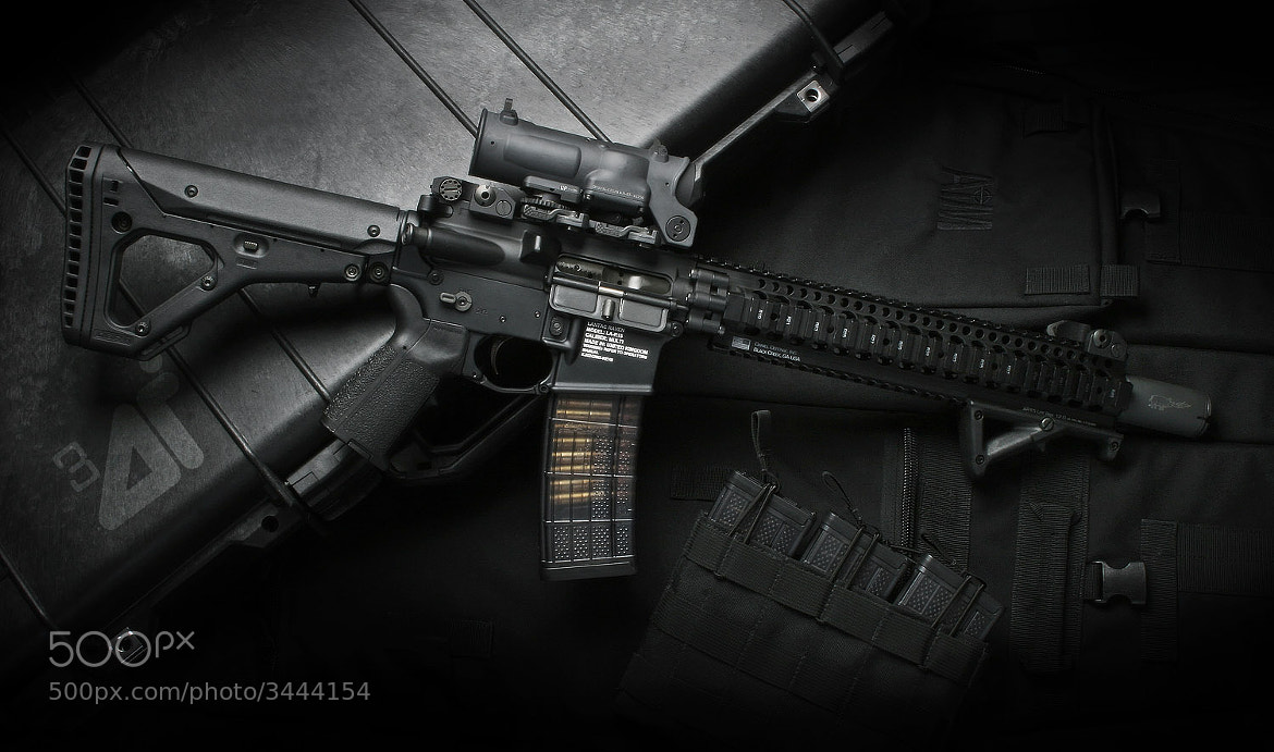 Photograph AR15 by Paul Oglesby on 500px