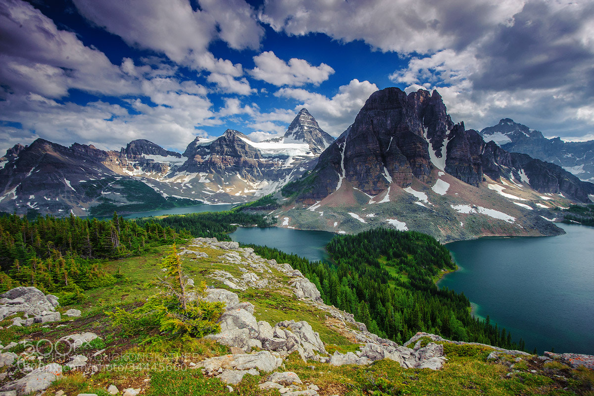 Photograph Mt. Assiniboine by Pete Wongkongkathep on 500px