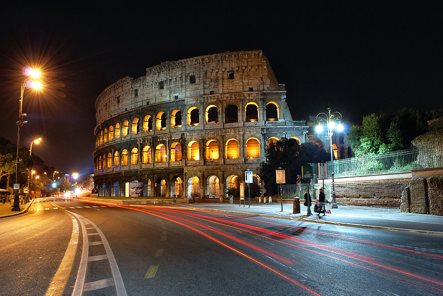 Photograph Rome at Night by Hristo Dimitrov on 500px