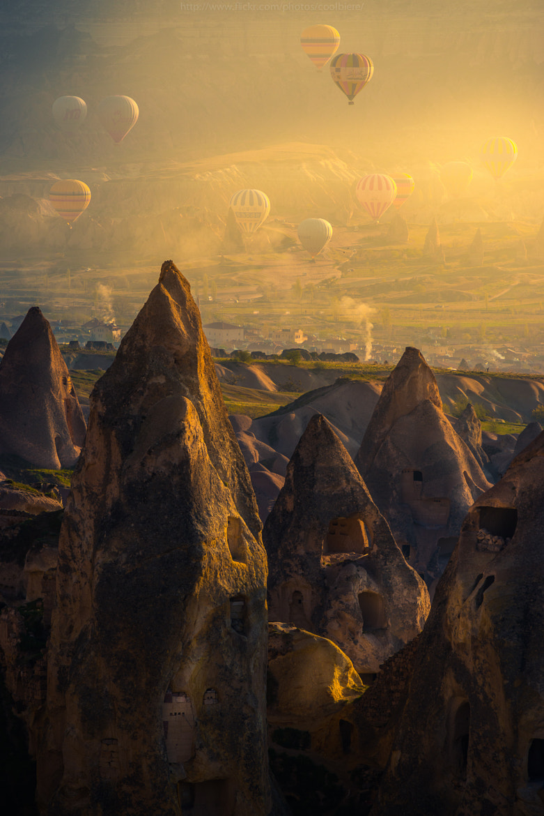 Photograph Morning Cappadocia by Coolbiere. A. on 500px
