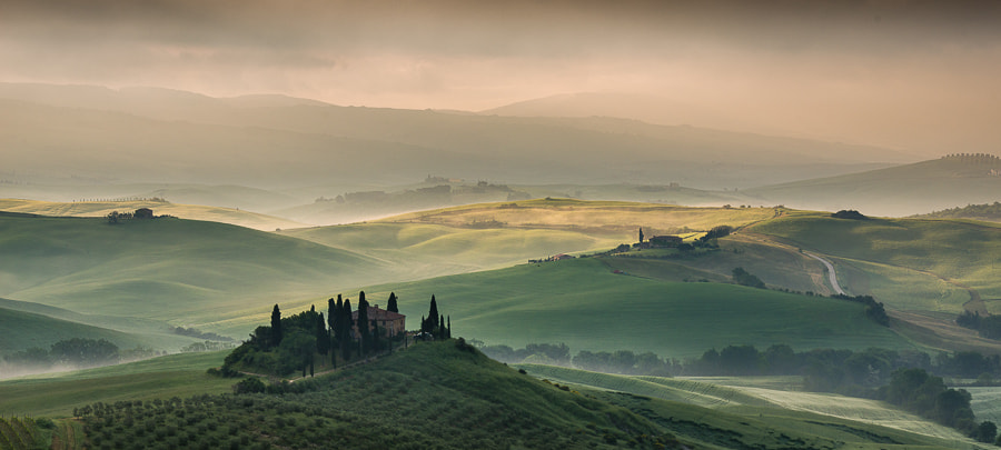 Photograph Morning light in Tuscany by Hans Kruse on 500px