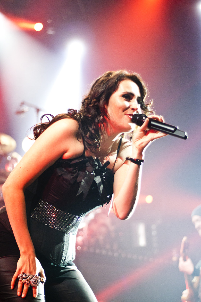 Photograph Within Temptation - Sharon den Adel by Julian Stiefel on 500px