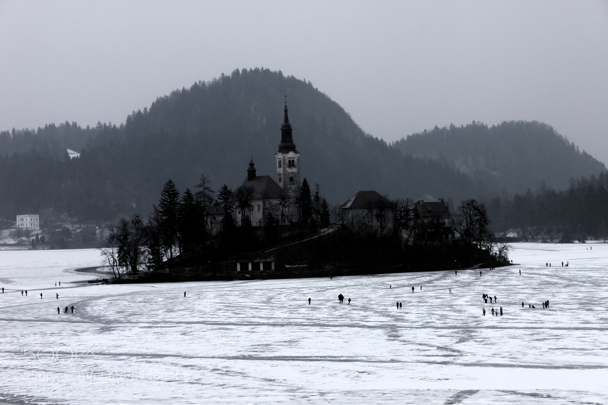 Photograph winter BLed by Uroš Demšar on 500px