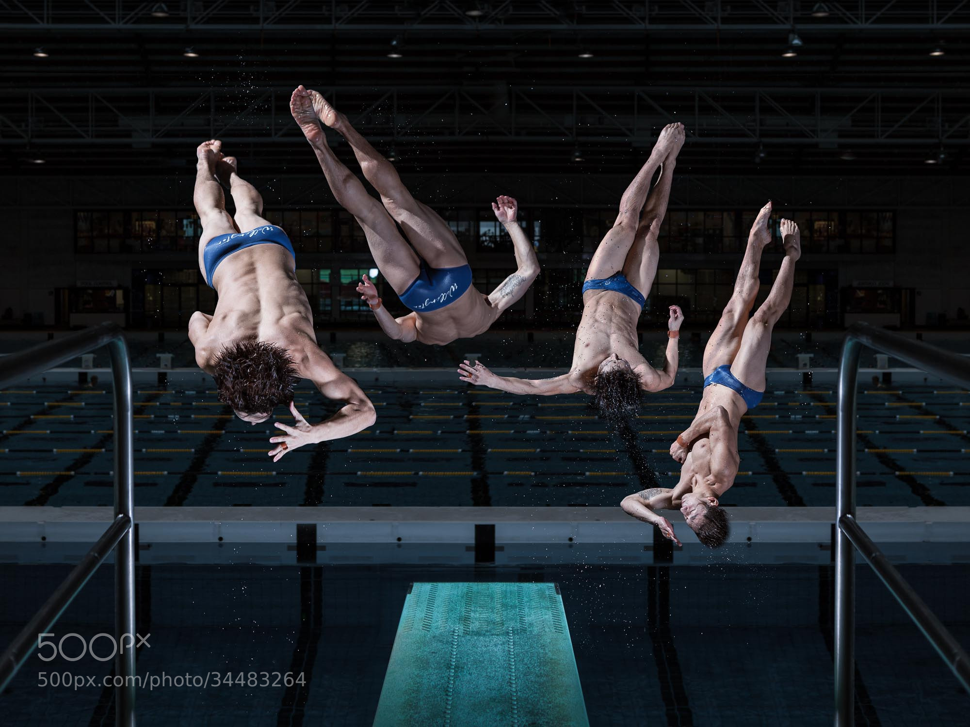 Photograph Li Feng Yang - Olympic Diver by Brett Stanley on 500px
