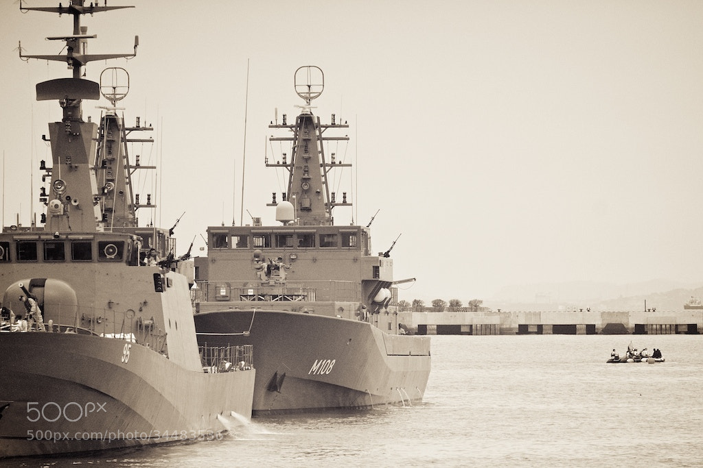 Photograph Singapore Navy Fleet by Sean Cheng on 500px