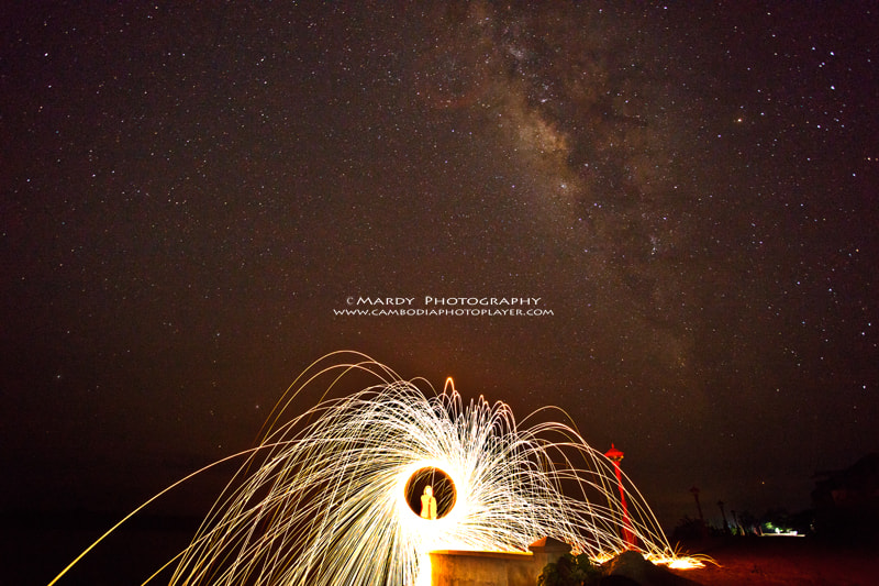 Photograph Milky Way vs Steel Wool! by Mardy Suong Photography on 500px