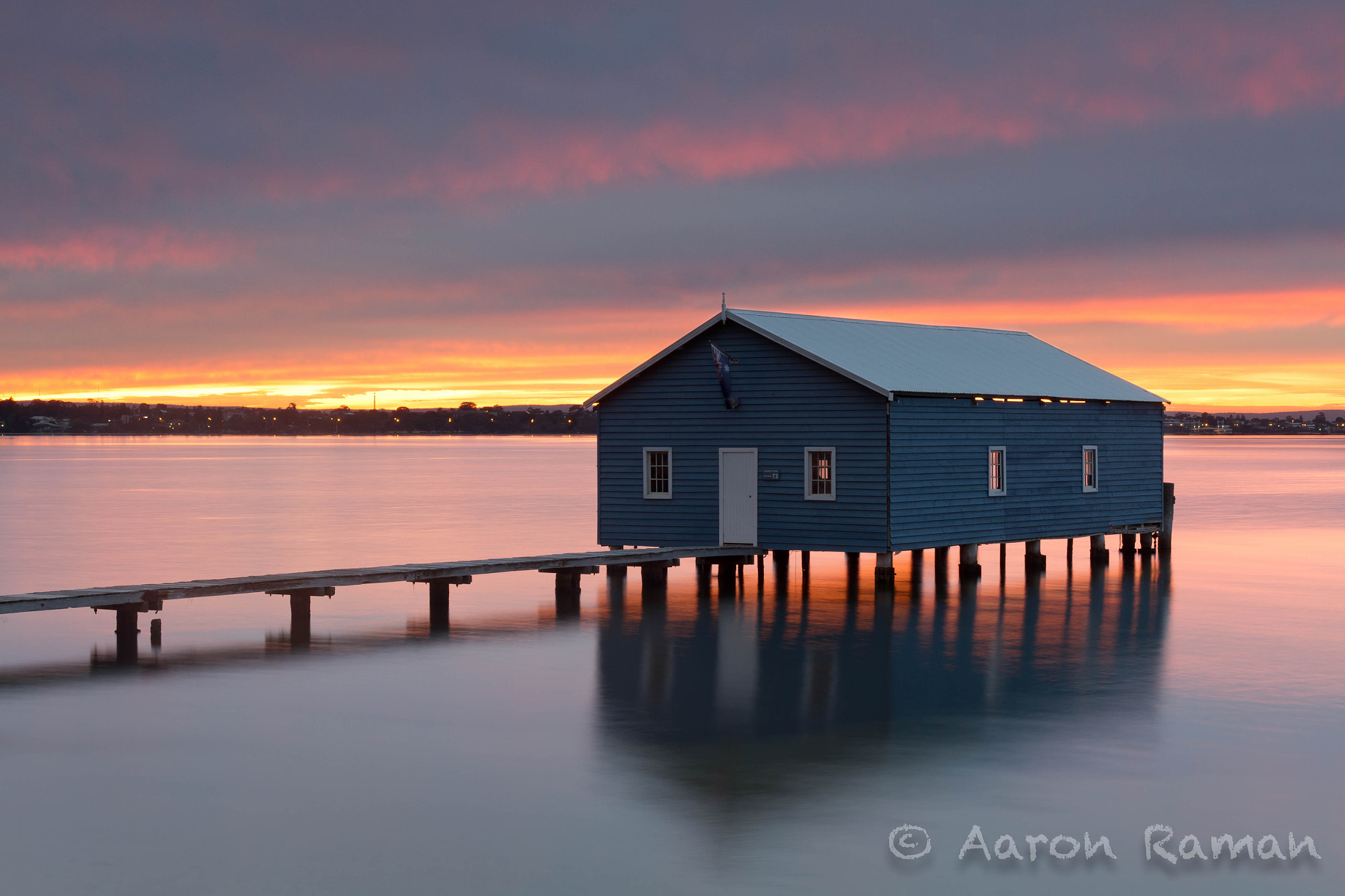 Photograph Sunrise at the boat shed by Aaron Raman on 500px