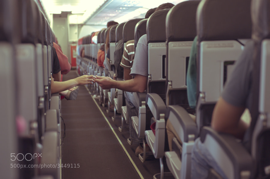 Photograph love on flight.. by mahathir abdul ghani on 500px