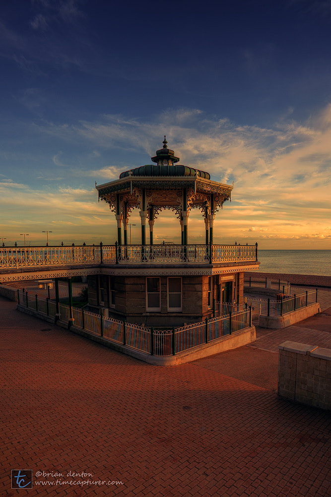 Photograph sunset on the bandstand by Brian Denton on 500px