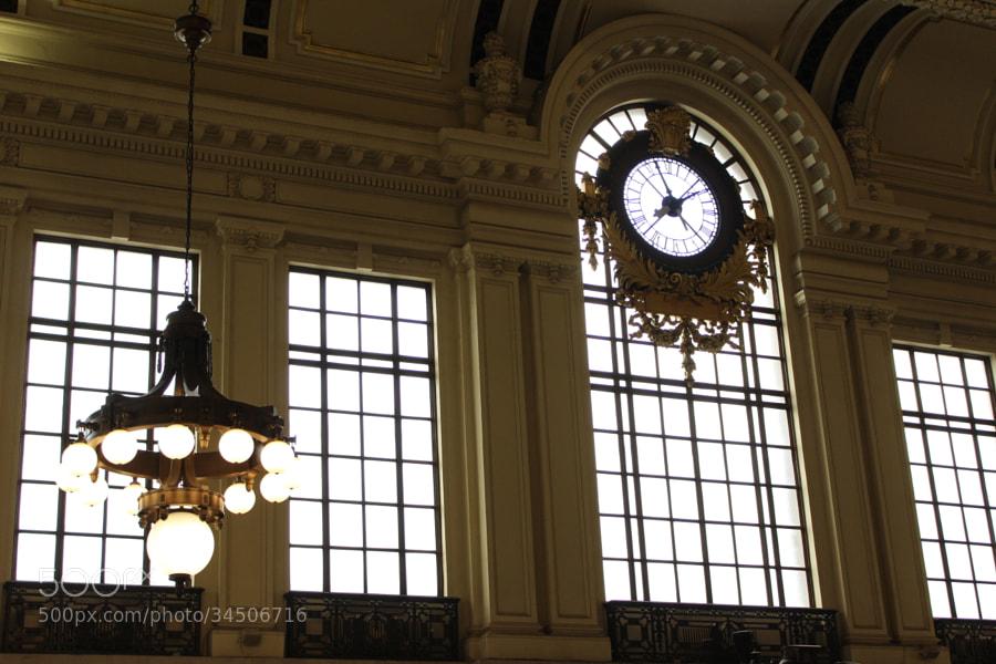 Time in Hoboken Station by Jamie Travis (jamielynntravis)) on 500px.com