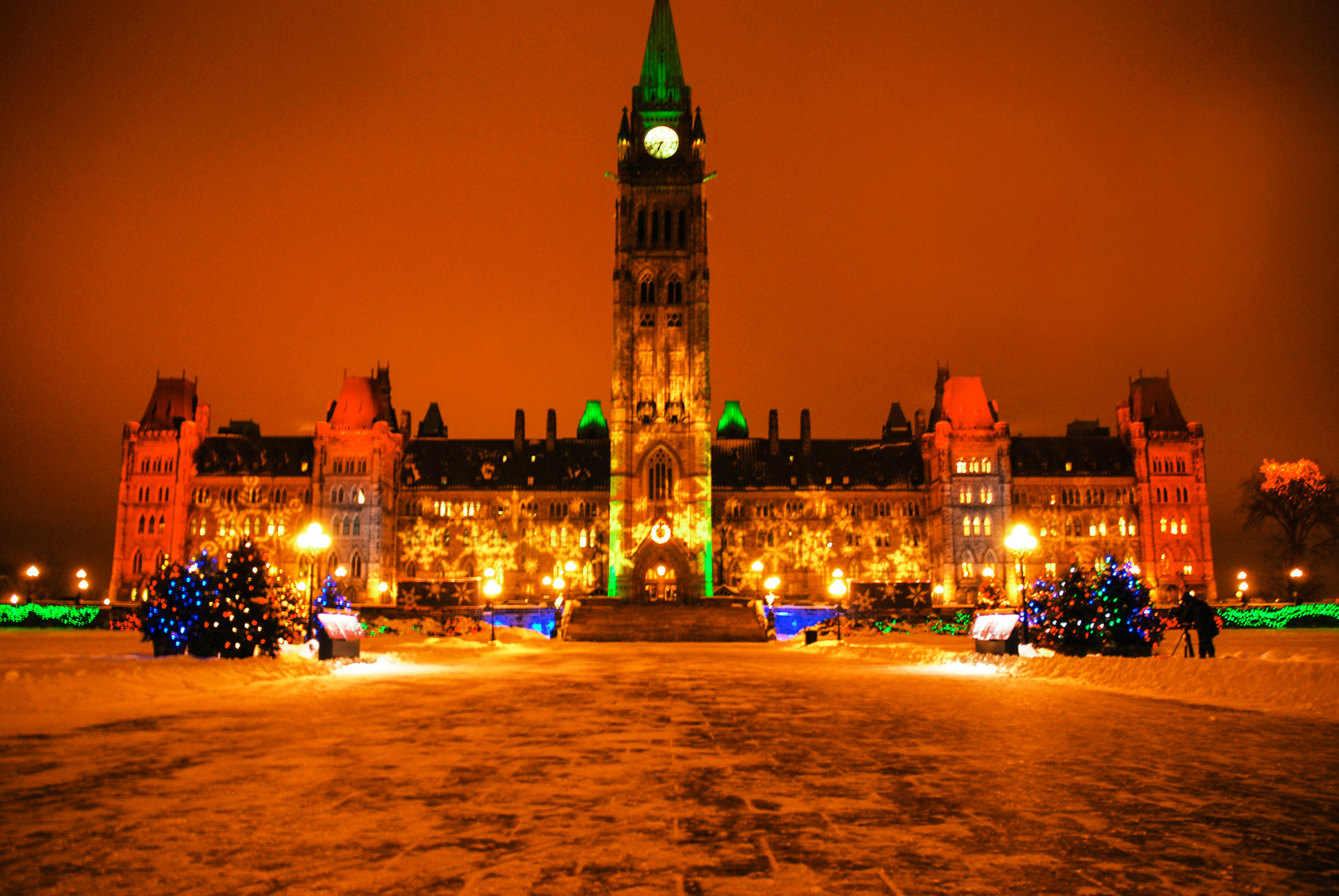 Photograph Winter Parliament  by JB Nuska on 500px