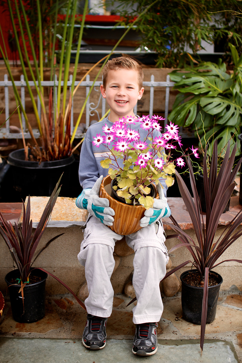 Photograph Junior Gardener by Andy McRory on 500px