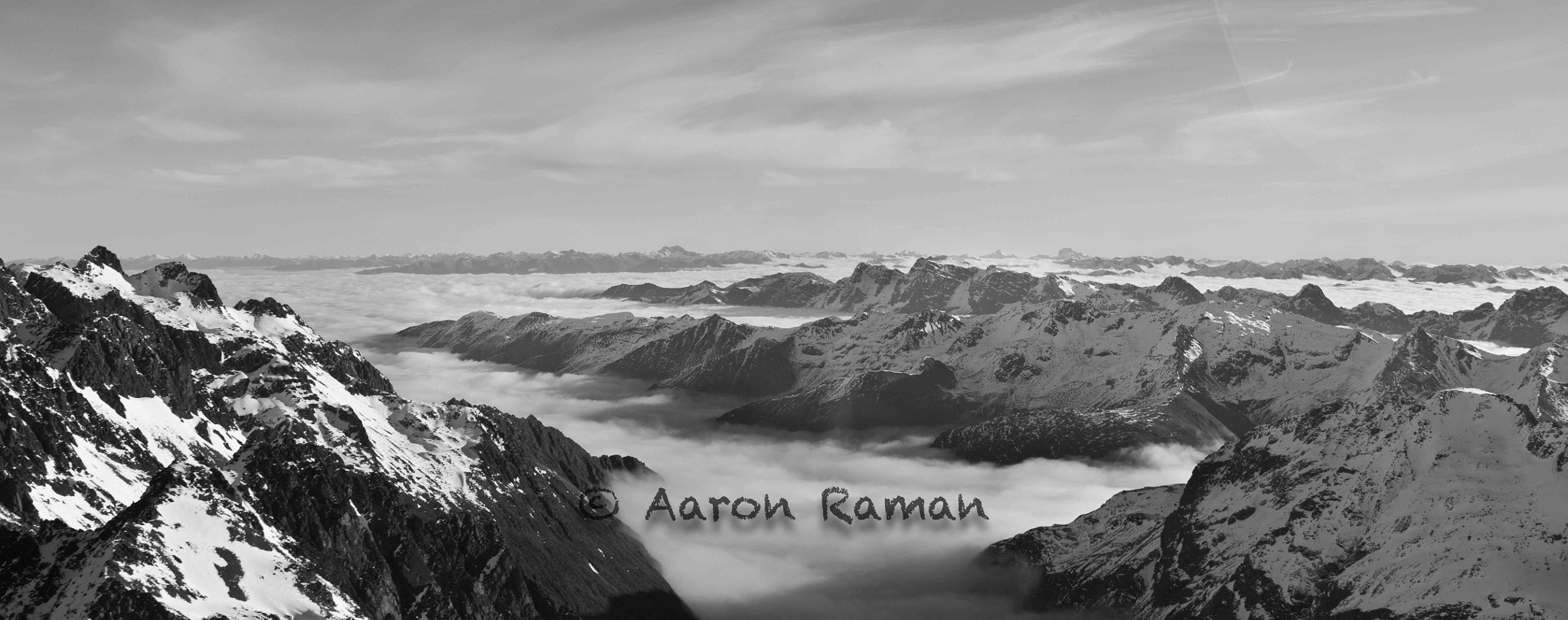Photograph Mountains of heaven and earth by Aaron Raman on 500px