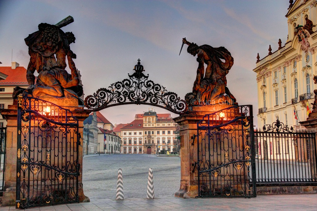 Photograph The Square of Hradcany seen from the entrance of the Prague Castle by Luca Grilli on 500px