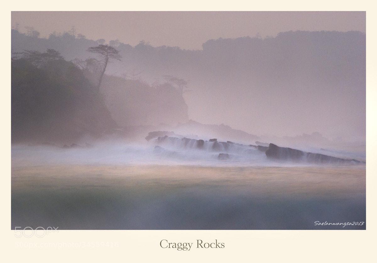 Photograph Craggy rocks by Saelan Wangsa on 500px