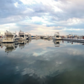 Banús Reflections Like Watercolors Panorama