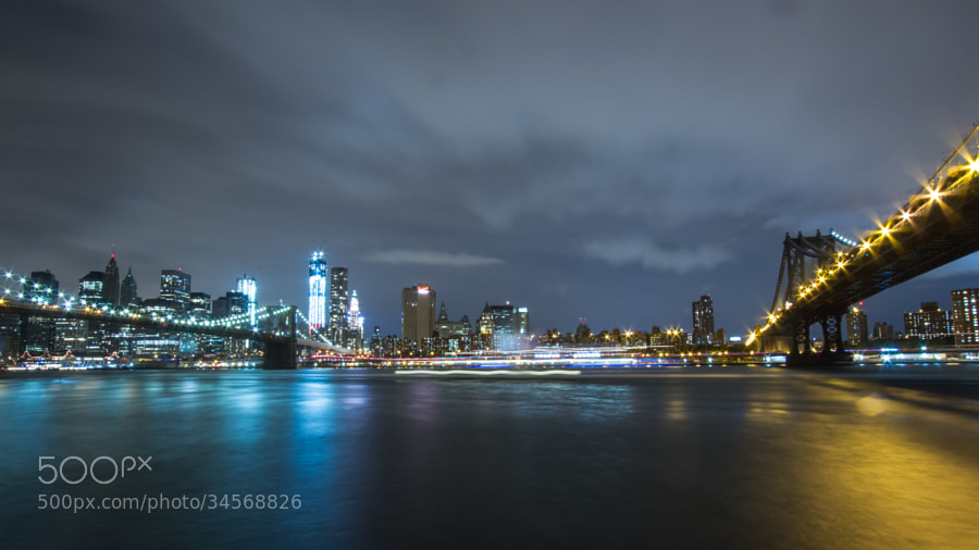New York - Skyline Night