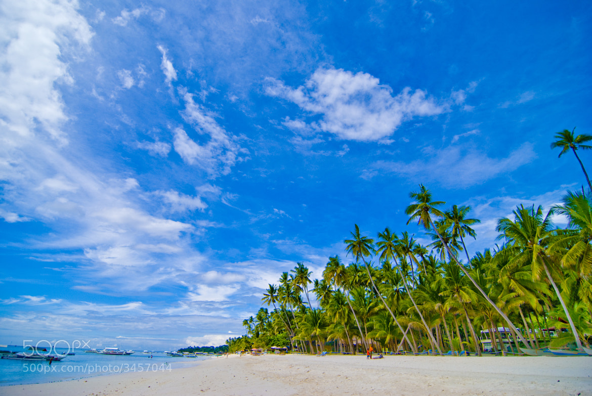 Photograph See the world in green and blue by Tina De Guzman on 500px