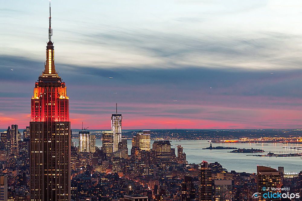 Photograph Sunset in New York by Francesco Vaninetti on 500px